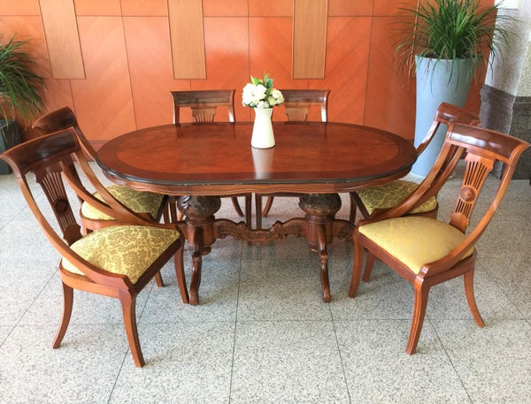 7Pc Ragosta European Dining Set