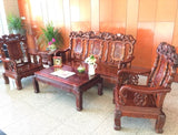 Rosewood Heavy Duty Sofa Set