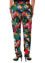 Tropical Print Easy pants