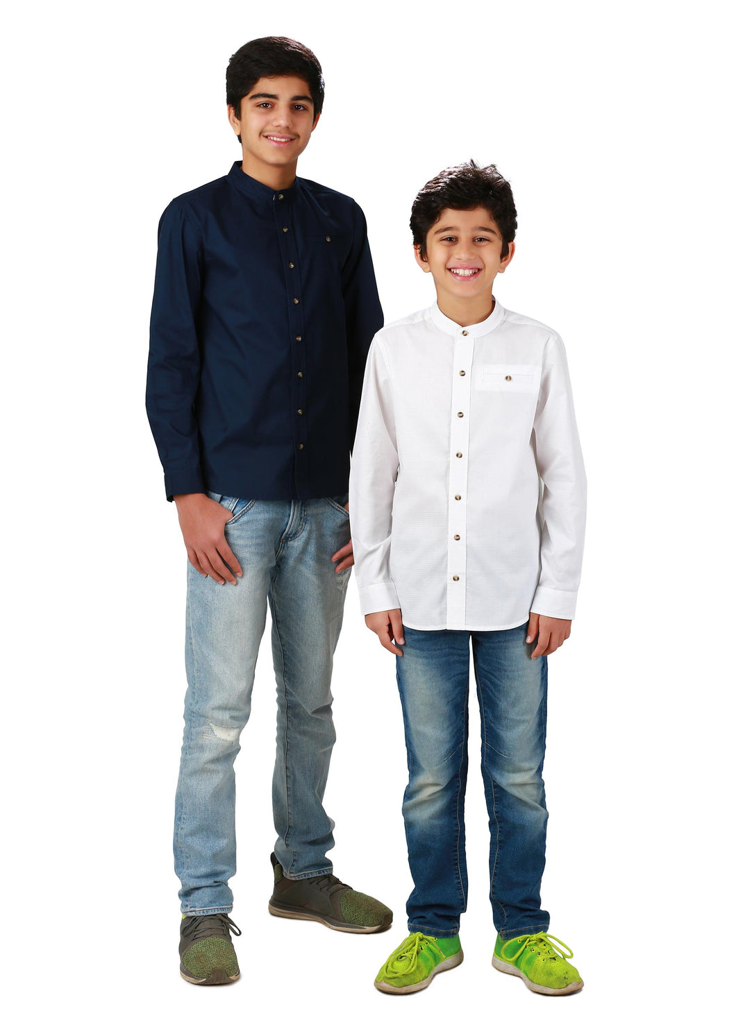 Boys Navy Blue Shirt