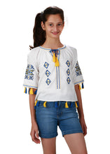 Limited Edition: Beautiful Bohemian 'Mother-Daughter' Top for Girls