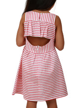 Red Stripes with Fancy Back