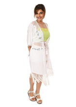 White Tassel Cover-up