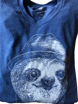 T-Shirt - Sloth Blue- Men's T-Shirt