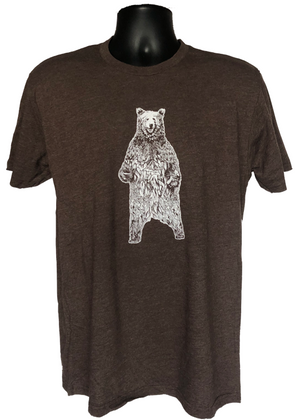 T-Shirt - Bear brown