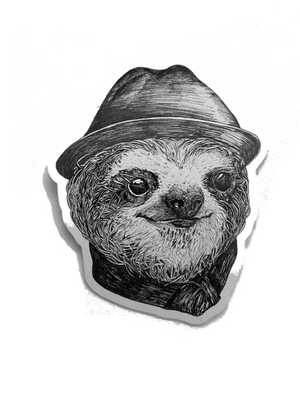 Sticker Sloth