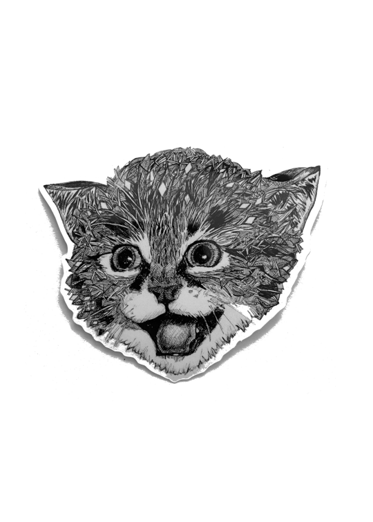 Sticker Cat