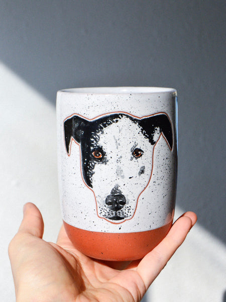 Custom Pet Portrait Cup