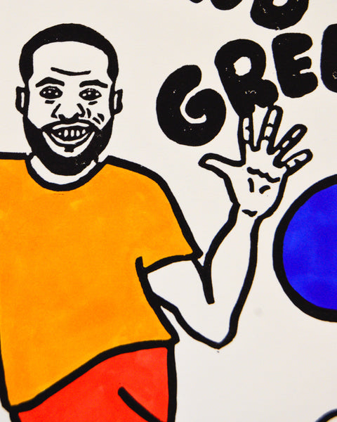 Draymond Green's Kickball League Print