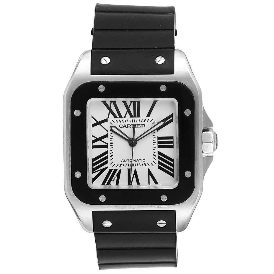 Cartier Santos 100 - Luxury Watch Rental Australia