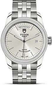 Tudor Glamour Date+Day - Luxury watch rentals - silver collection