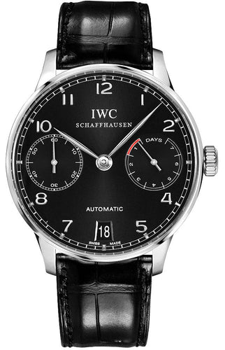 IWC PORTUGUESE 7 DAY - stainless steel watch rental