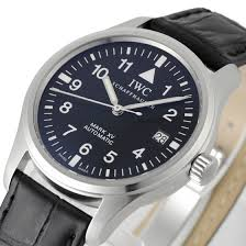 IWC Pilot's Watch Mark XV Spitfire Blue Dial