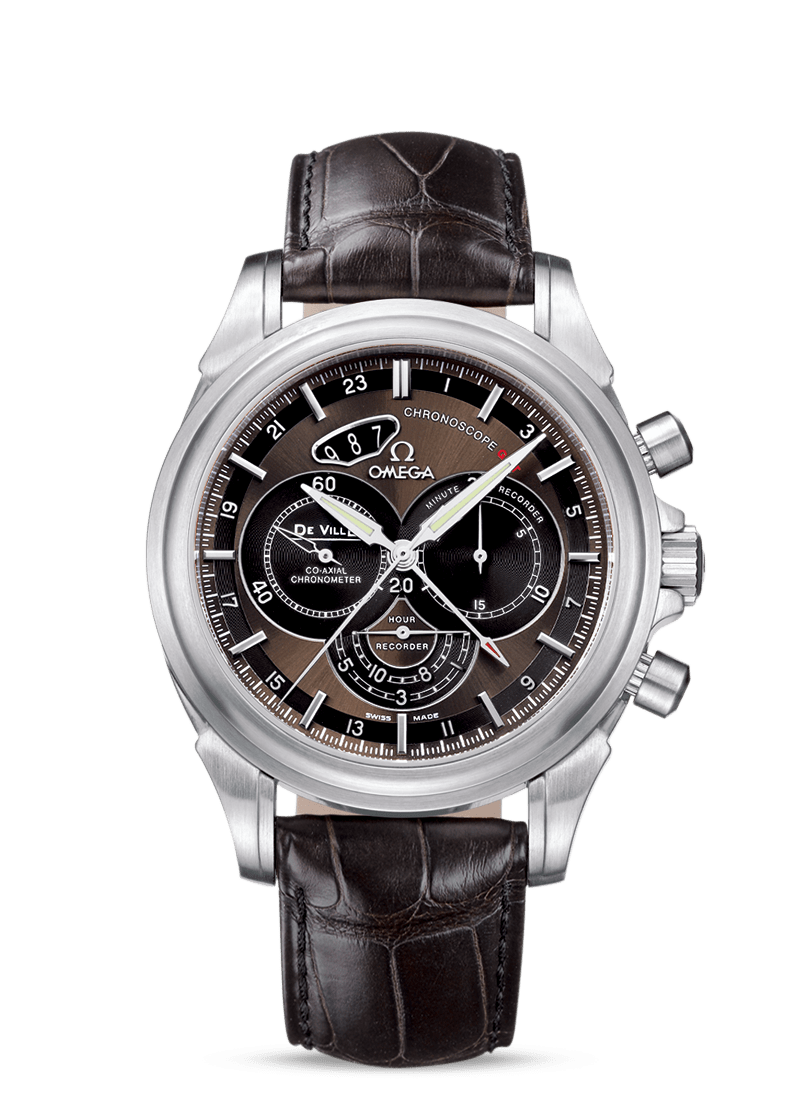 Omega De Ville Chronoscope Co-Axial GMT Chronograph 44mm