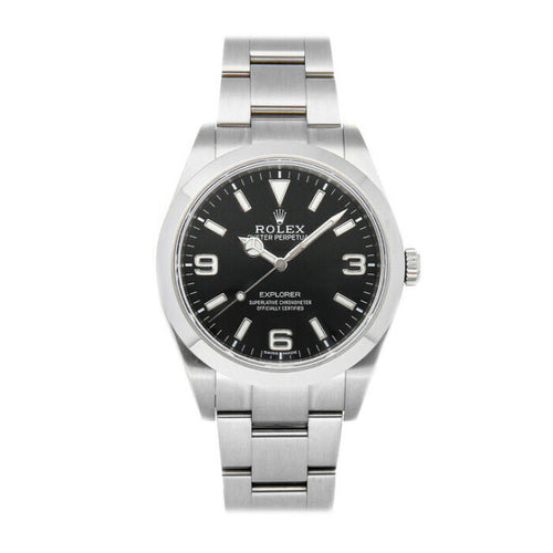 Rolex Explorer Black Dial 39mm
