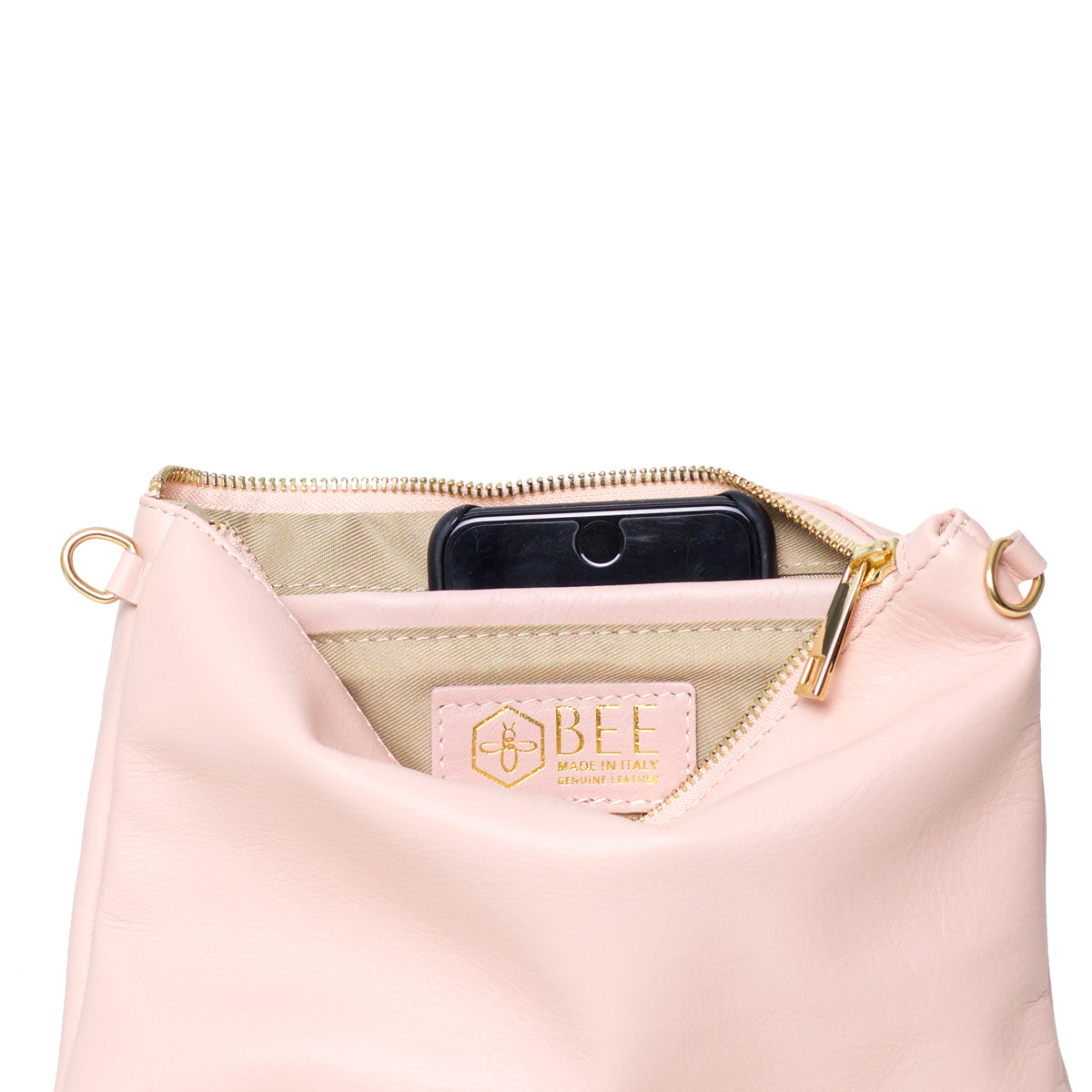 Tully Dusty Pink Clutch
