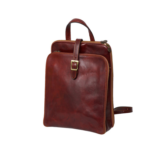 Catherine Brown - Vegetable Tanned Leather Backpack