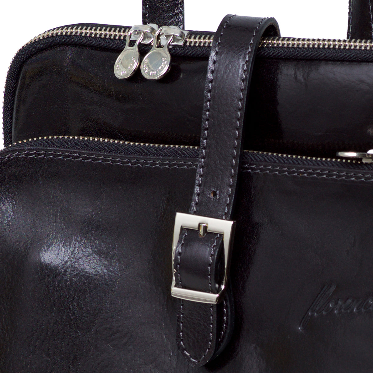 Catherine Black - Vegetable Tanned Leather Backpack Bag