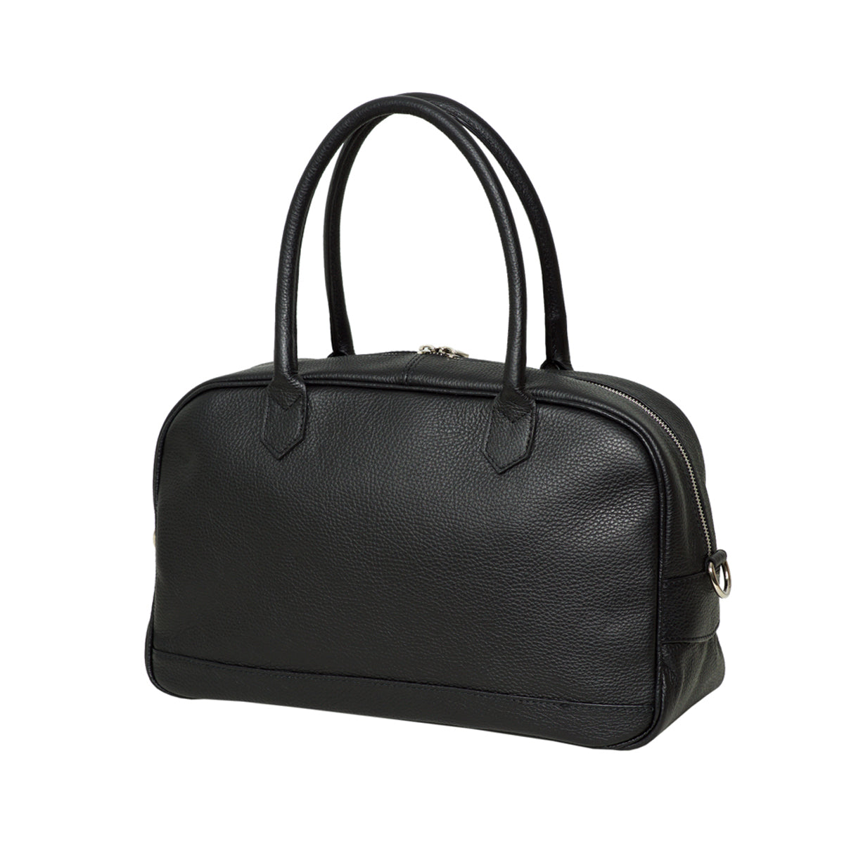 Greta Black Tote Bag