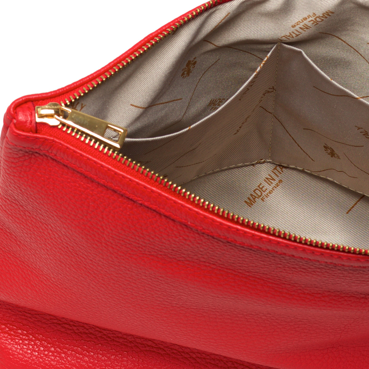 Melita Red - Cosmetic bag / Clutch Bag
