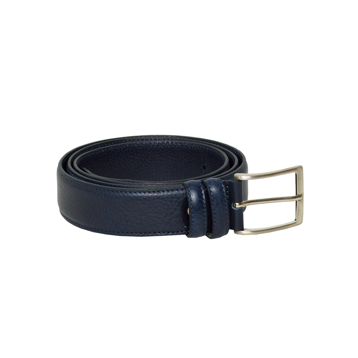 Ravenna Blue - Leather Belt