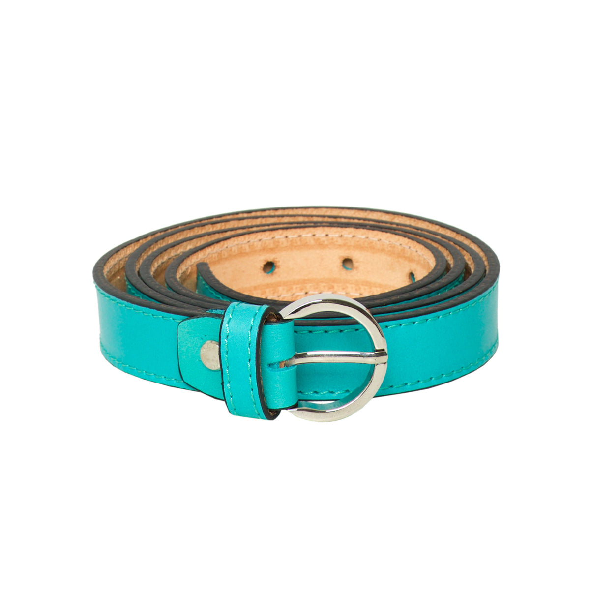 Lucca Aqua - Leather Belt