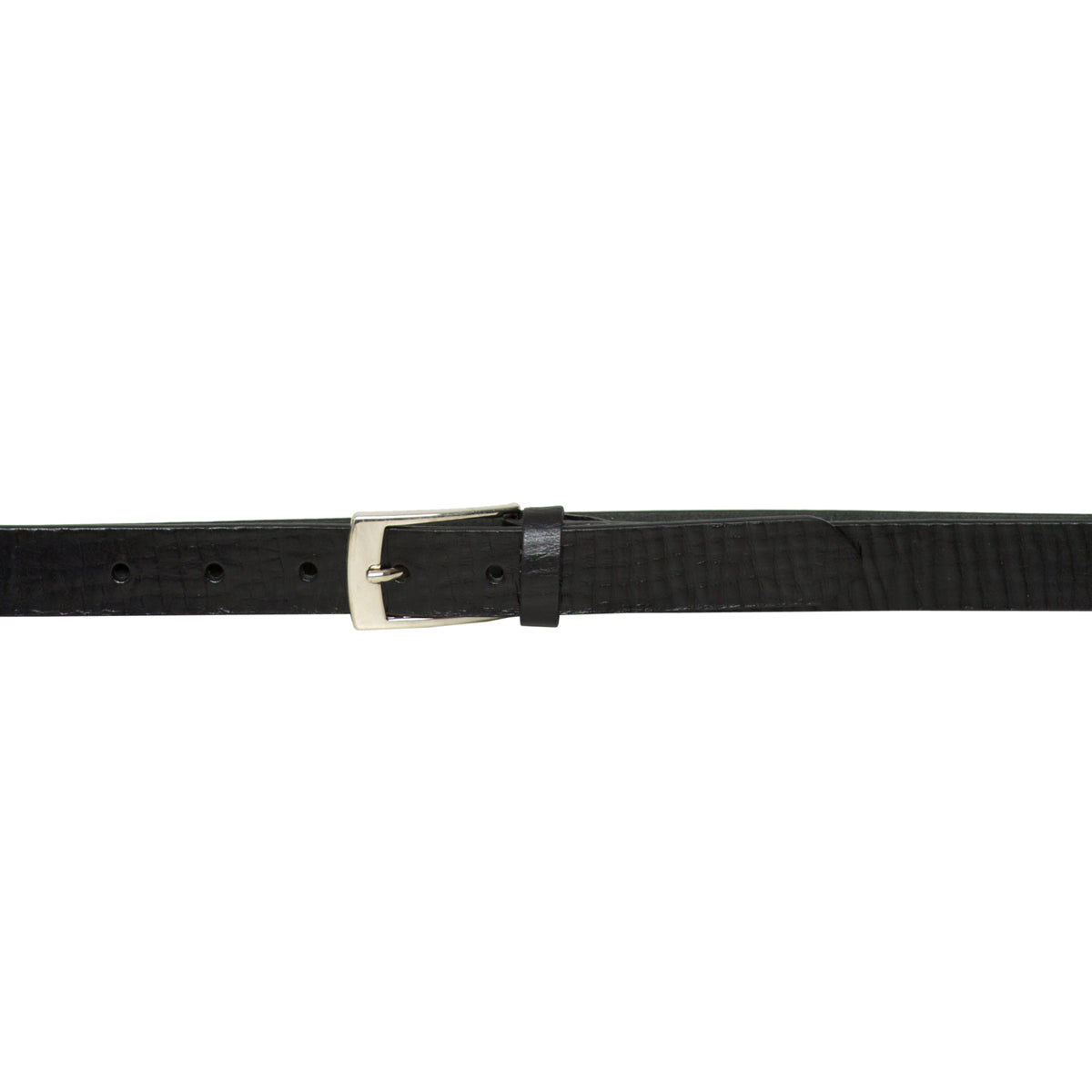Parma Black - Leather Belt