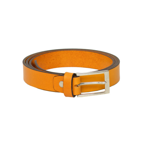 Parma Mustard - Leather Belt