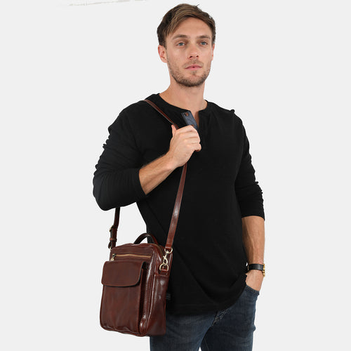 Romolo Brown - Satchel Bag