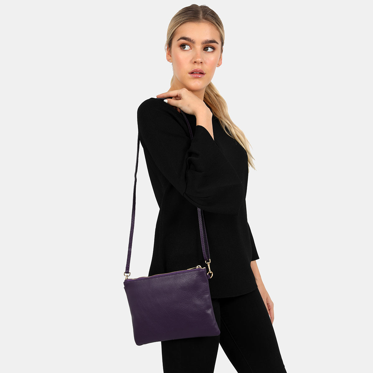 Tully Purple Clutch