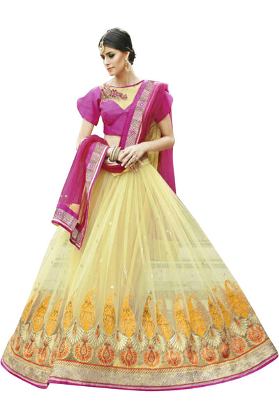 yellow-pink-a-line-circular-lehenga-in-net