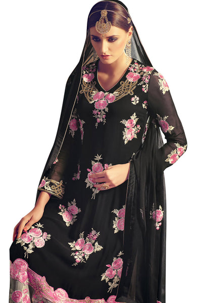 black-straight-cut-pakistani-suit-in-georgette