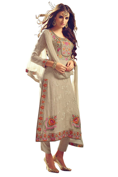 beige-straight-cut-pakistani-suit-in-georgette