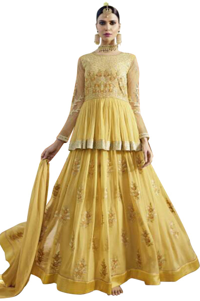 mustard-embroided-anarkali-suit-in-georgette
