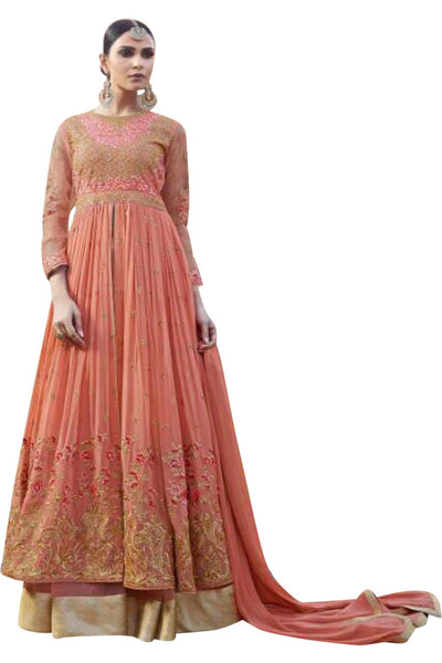 peach-embroided-anarkali-suit-in-georgette