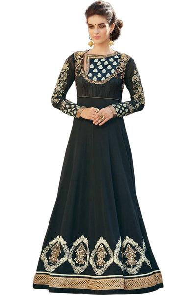 black-embroided-anarkali-suit-in-mixed-silk