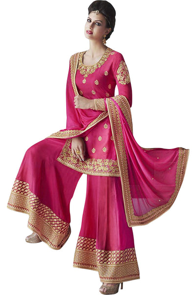 pink-embroided-palazzo-suit-in-tussar-silk