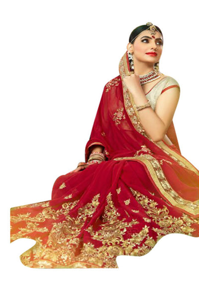 red-embroidered-saree-in-georgette-2