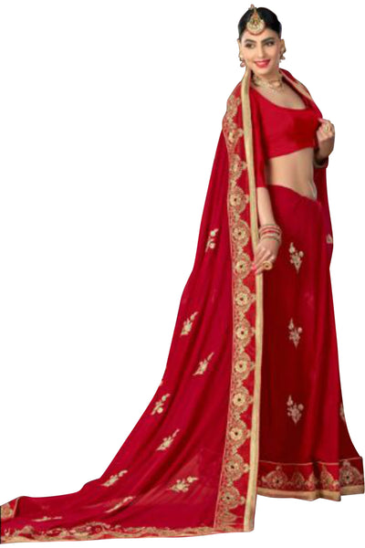 red-embroidered-saree-in-georgette-10