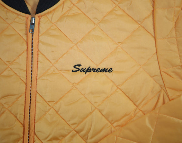 SUPREME S/S 17 Zapata Quilted Work Jacket - Peach