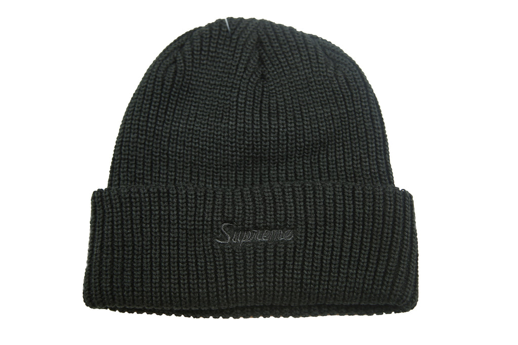 Supreme A/W 17 Loose Gauge Beanie - Black