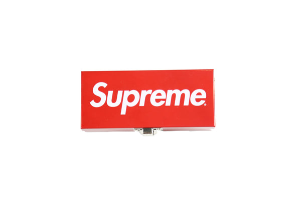 Supreme S/S 17 Small Metal Storage Box