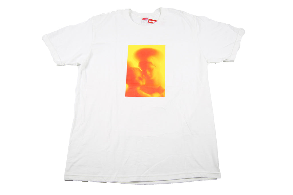 Supreme A/W 17 Madonna & Child Tee - White
