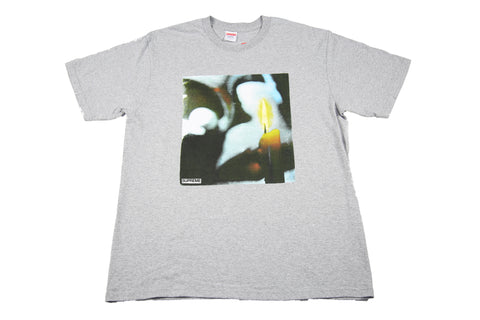 Supreme A/W 17 Candle Tee - Grey