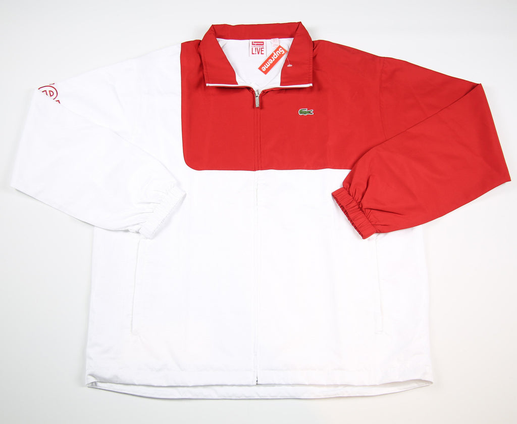 SUPREME S/S 17 Lacoste Track Jacket - Red
