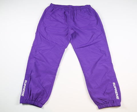 SUPREME S/S 17 Warm Up Pant - Purple