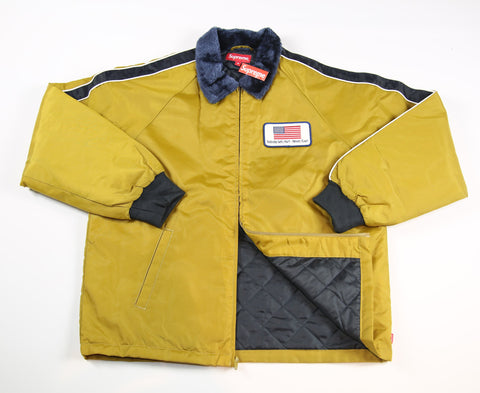 SUPREME S/S 17 Freighter Jacket - Yellow
