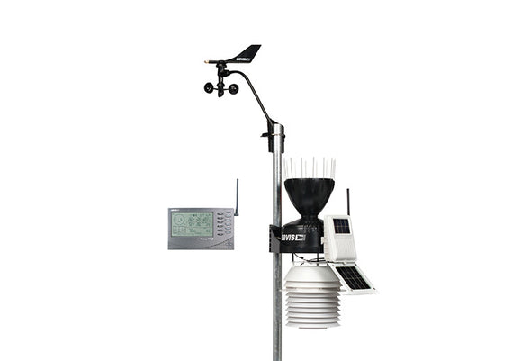 Davis 6153NZ Wireless Vantage Pro2 with 24 Hour Fan Aspirated Radiation Shield and 2017 AeroCone