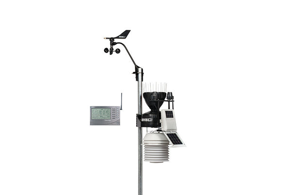 Davis 6163NZ Wireless Vantage Pro2 Plus with 24hr Fan Aspirated Radiation Shield and AeroCone