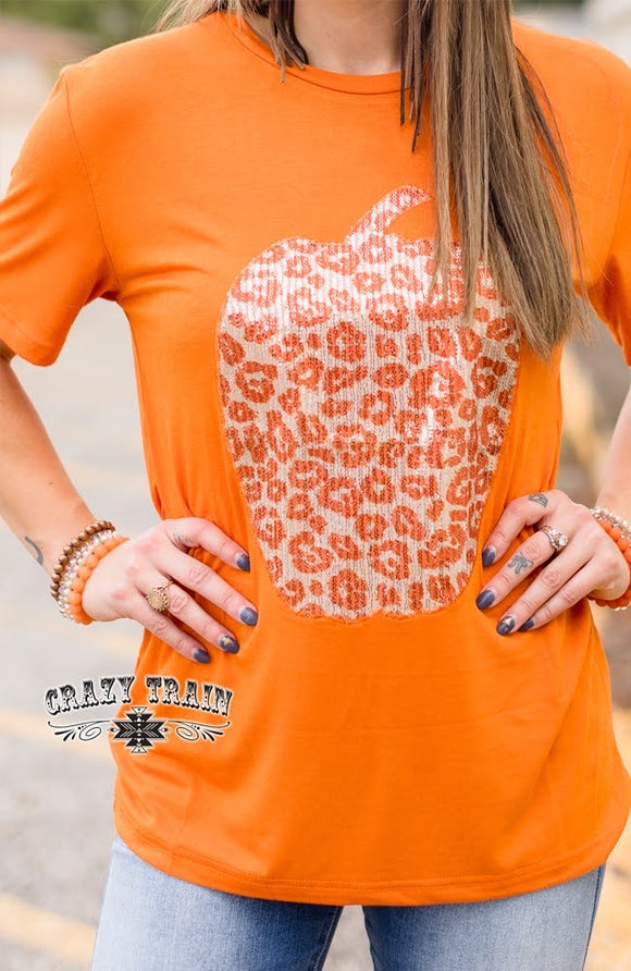 Patch Perfect Pumpkin Tee